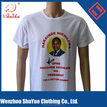 Factory direct costom vote president election t shirt