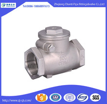 Stainless Steel 316 water meter Swing check valve 6 inch