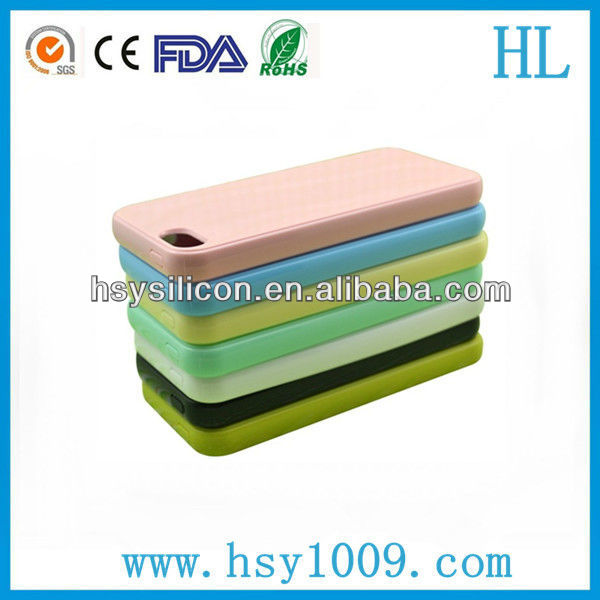 best silicone back case for cellphone mobile silicone case