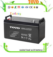 sealed lead acid battery 12V 100ah vrla batteries