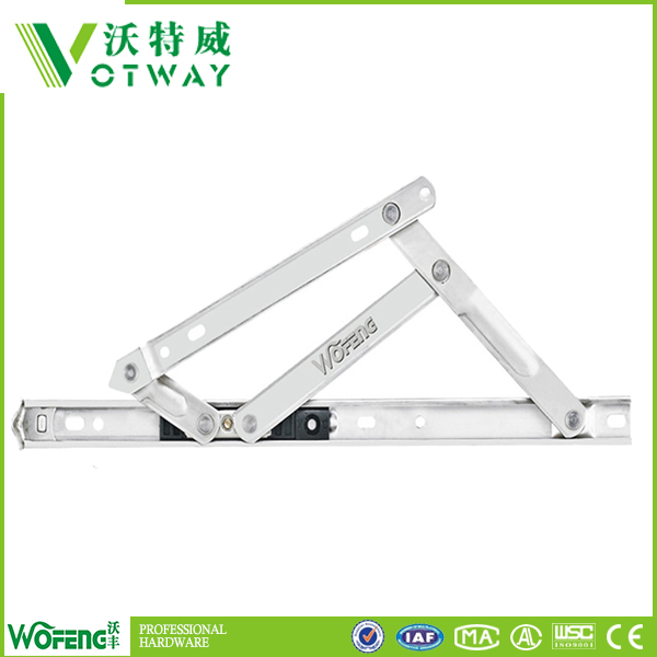 Window friction casement stay hinge arms