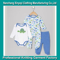 Made in China 0 -3 Month Baby Designer Clothes in Summer / Cheap Newborn Baby Clothing Set