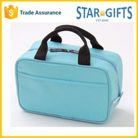 China Supplier Wholesale Cheap Cube Thermal Lunch Box Bag With Front Slip Pocket