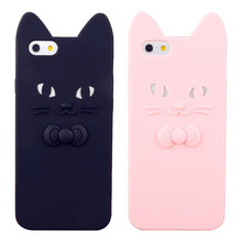 Monchhchi Cartoon Smooth Silicone Skin Back Case Cover Protector for Apple iPhone 4G 4S