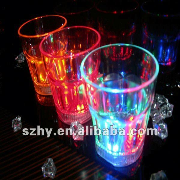 Yard weight imitation LED Plastic Glass Cup