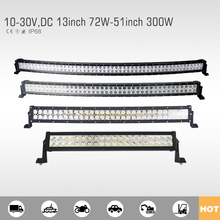 High quality curved led light bar off road