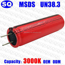 3.2v lithium iron phosphate lifepo4 ifr 18650 motorcycle rechargeable battery cell