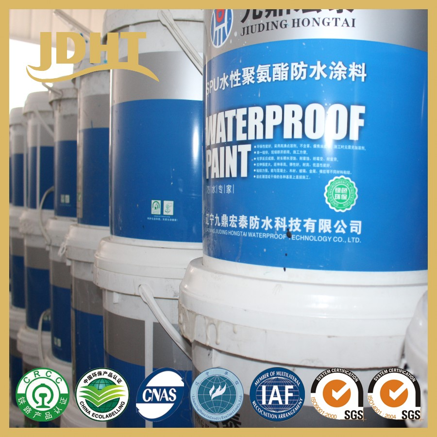 C001 JD-123 Based Polyurethane Waterproof Coating coating materials Suppliers