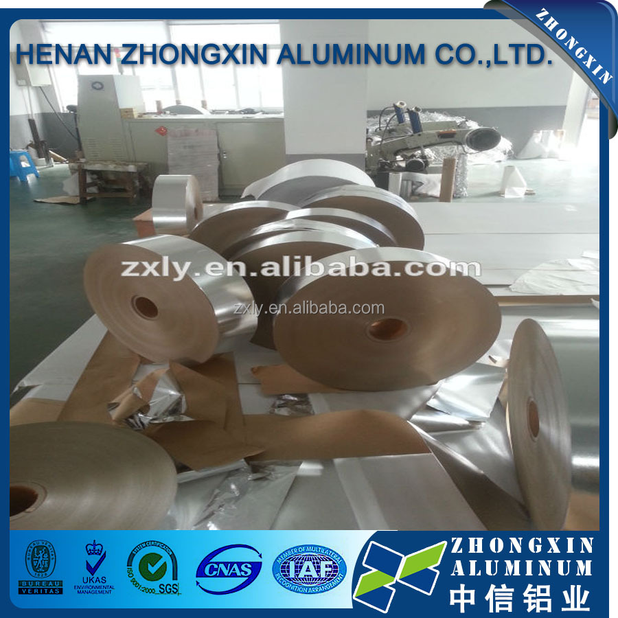 China supplier of colored rolling aluminum foil paper