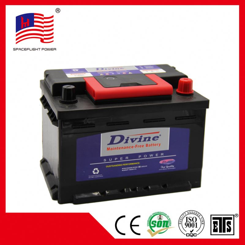 korean style DIN45MF 12V45AH Long cycle life low price battery car