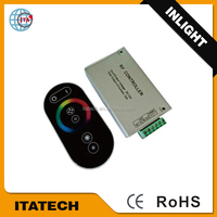 DC12V~24V or AC12V Aluminum shell 6 keys RF wireless touch panel synchronous controller/Dimmer for led light