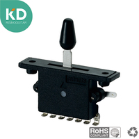 KG 1002 5B Guitar parts lever switch 5 way black cap