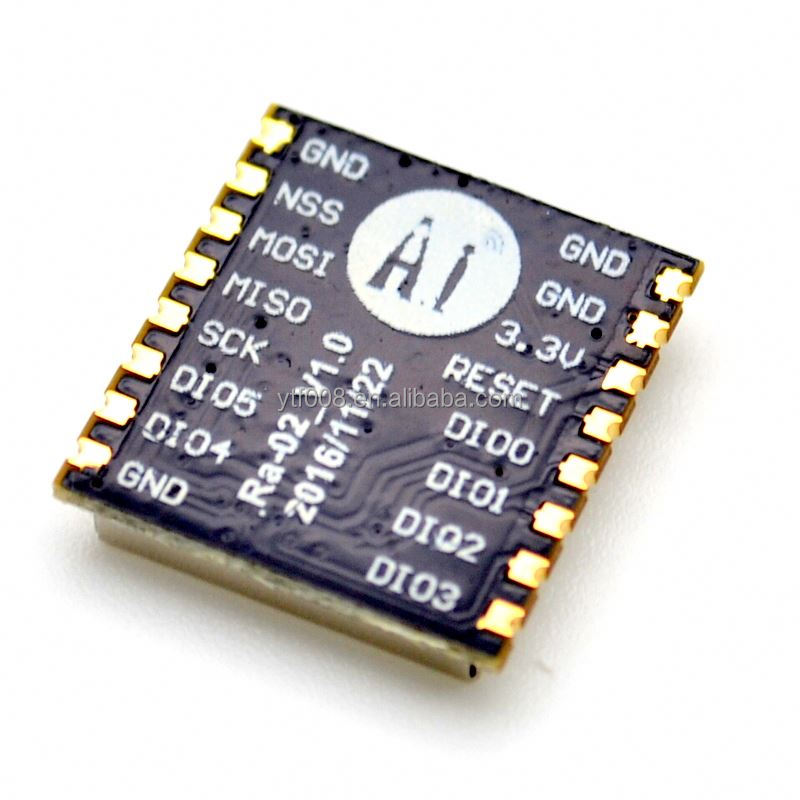 SX1278 LoRa spread spectrum wireless module 433MHz wireless serial port UART interface Ra-<strong>02</strong>