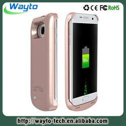 rohs battery case for samsung charging case samsung s7 power bank for mobile phone