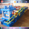 Steel frame building machine C Z shape purlin Roll forming machine hydraulic plate rolling machine