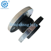 Rubber expansion joint with galvanized Flange
