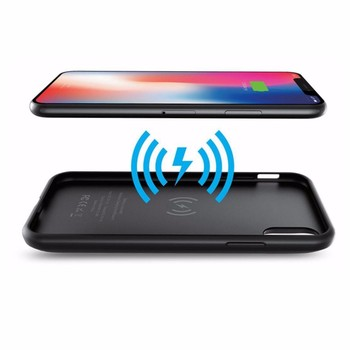 Wireless battery charger case QI transmitter for iphone X