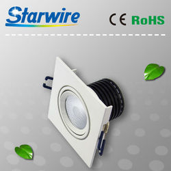 5W/9W/12W led recessed down light dimmable retrofit led downlight malaysia