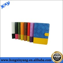 Standing pu leather case for ipad mini with card slot