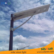 High power all in one 60w integrated solar street light with Aluminum Alloy IP65 led street light fitting