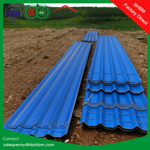 waterproof long span corrugated magnesium oxide roof tile non asbestos insulated mgo roof