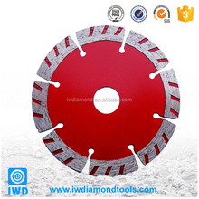 Profile Diamond Wet Saw Blade for Construction Industry Sinter Turbo Segmented Profile Diamond Wet Saw Concrete Cutting Blade