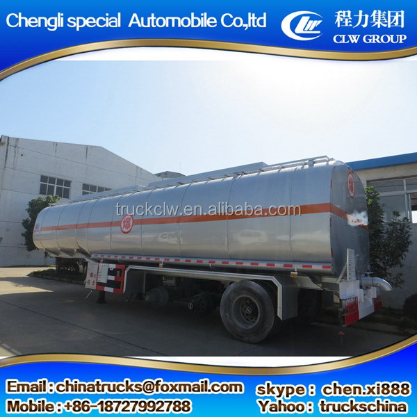 Top quality new products fuel tanker semi trailer
