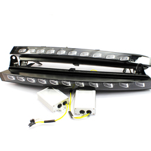 Factory price ! led Daytime Running Lights for Audi Q7 With Yellow Turn Signal Function