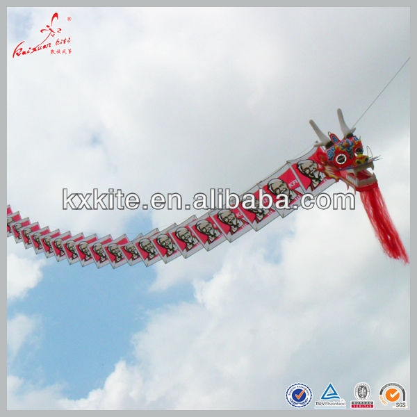 Weifang Kaixuan Dragon kite for promotion