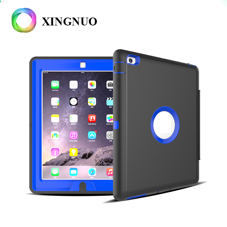 Alibaba Child Proof Tpu + PC Dormancy Shockproof Universal Rugged Tablet Case For Ipad 234