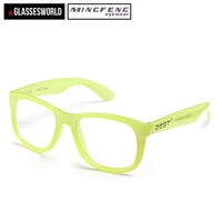 Factory Sale Top Quality Fluorescent Dark Frame glasses Party Glasses christmas Eyeglasses ZH001