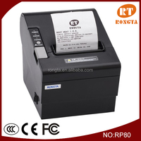 80mm Thermal Receipt POS Ethernet/Lan Printer support Android and IOS Phone/Tablet