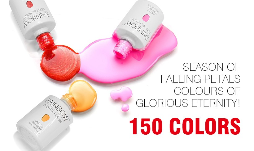 CCO rainbow 10ml factory colored 150 colors CCO uv gel polish, wholesale uv/led nail gel polish