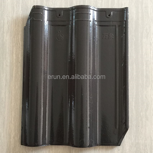 Wuxi best price decorative curved building materials lightweight ceramic roof tile