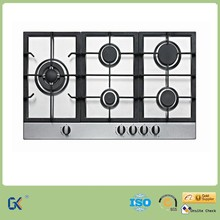 2015 Middle East Standard Kitchen Stainless Steel 5 Burner Gas Hobs