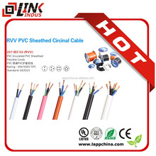 1.5mm2 3core 450/750V electrical cable prices high voltage electrical power cable