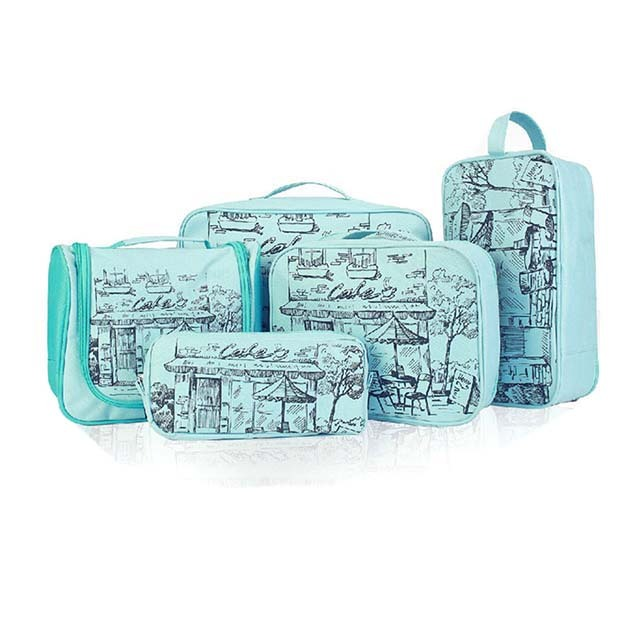 Fashion Chinese Design Outdoor Wholesale Canvas Cosmetic Bag