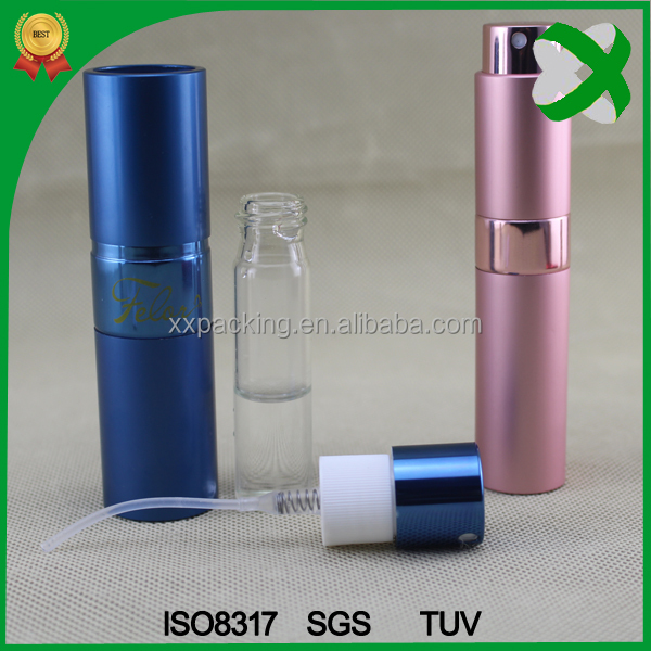 8ml Aluminium spray bottle perfume atomizer