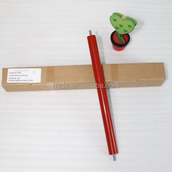 Lower Sleeved Roller for Lenovo M3100 M3200 M7100 M7000 Brother FAX 2880 Fuser Pressure Roller Printer Spare Parts