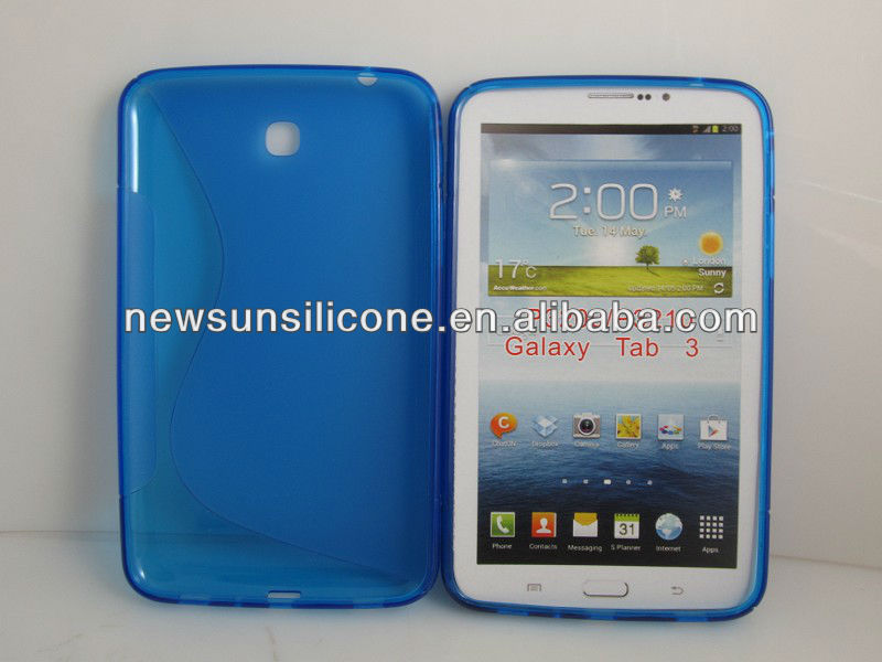 Soft TPU Cover Case For Samsung Galaxy Tab 3 7Inch Tablet P3200 P3210
