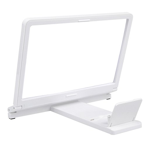 Mobile phone screen 3d enlarger phone holder,cell phone screen magnifier stand