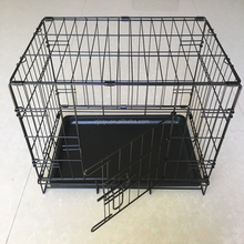 Folding Cage Crate Kennel Small Pet Dog Single-Door Metal Portable 18x12""