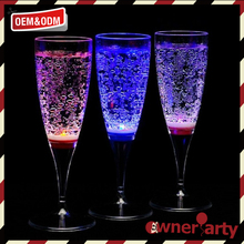 Wholesale high quality led flashing champagne cup