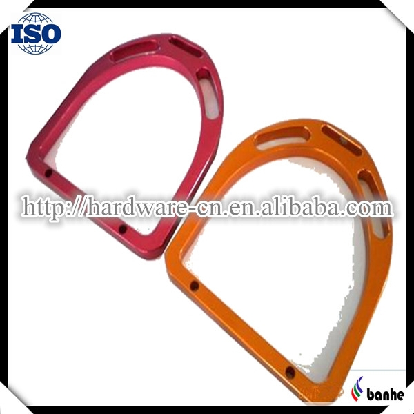 High Quality Aluminum Equestrian Equipment with colourful oxidation