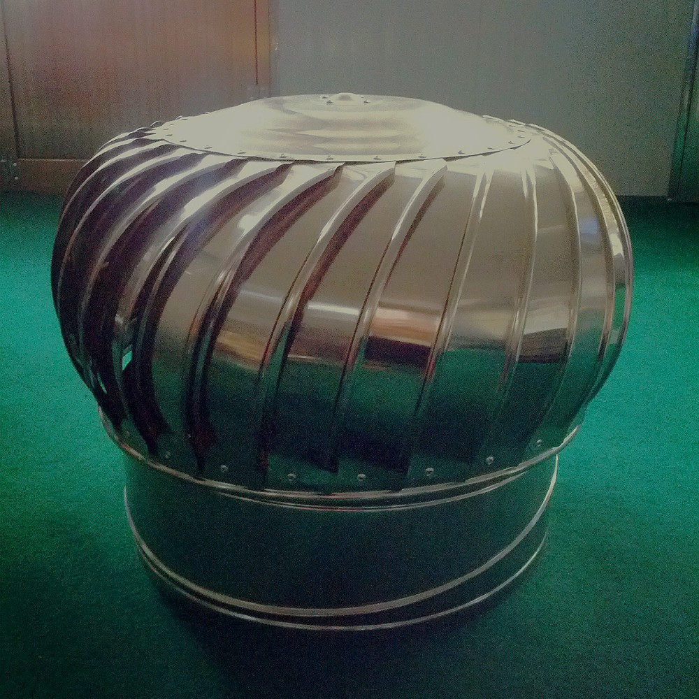 Wind Powered Attic Ventilation : Wind powered industrial roof mounted exhaust fan buy