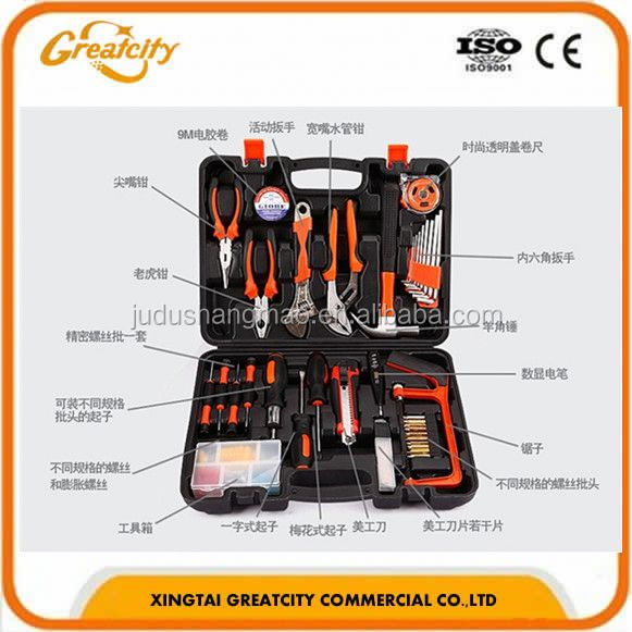 Hot sale useful car repair or domestic tool set & tool kit