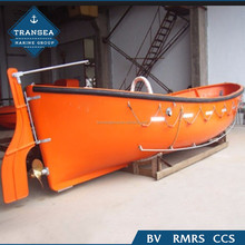 Marine used 5.5m open lifeboat for sale
