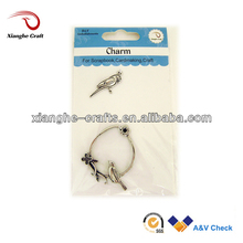 2015 charms parrot sterling silver charms decorative metal bird cages