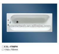 E1700 Enamelled Steel Bath With Tap Holes