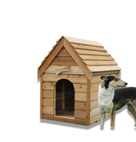 The luxurious wooden pet house